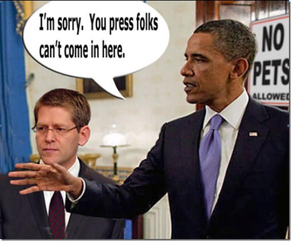 Obama Press Corpse